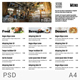 Menu Minimalist Photography Design - GraphicRiver Item for Sale