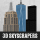 3D Skyscrapers Pack for After Effects - VideoHive Item for Sale