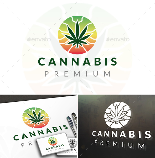 Marijuana Logo Template - Nature Logo Templates