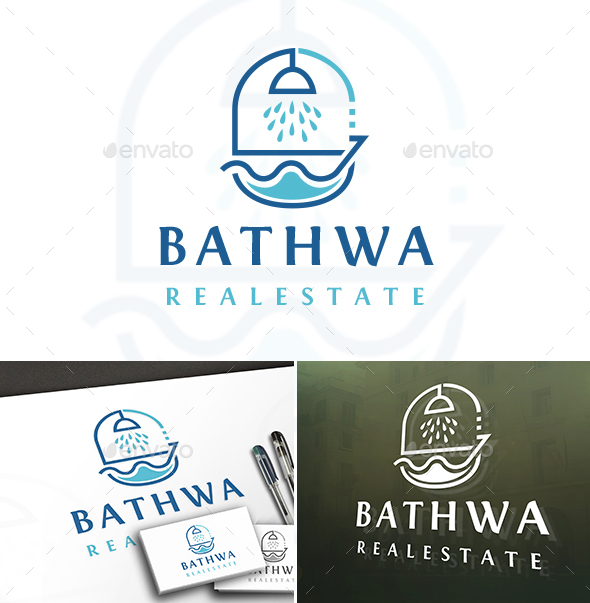 Bath Design Logo - Objects Logo Templates