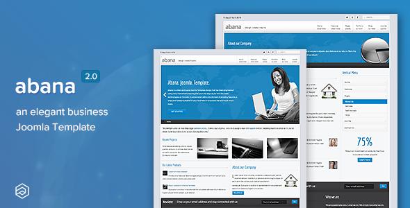 Abana - Responsive Business Joomla Template - Business Corporate