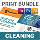 Cleaning Service Print Bundle - GraphicRiver Item for Sale