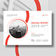 Annual Report Landscape A4 - GraphicRiver Item for Sale
