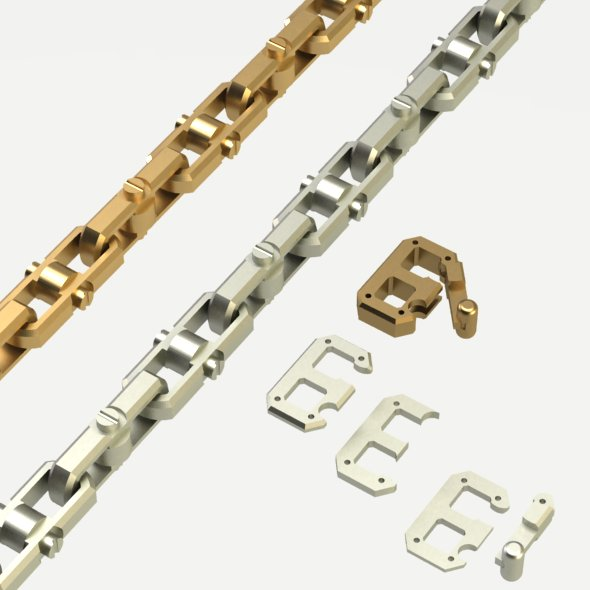 Chain with a secure lock - 3DOcean Item for Sale
