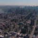 New York City Helicopter Aerial Skyline of Central Park and Midtown Manhattan, Flying Over East - VideoHive Item for Sale