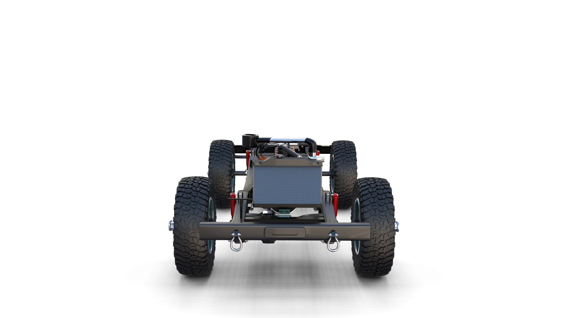 Full Offroad Vehicle Chassis