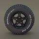 Offroad Alloy Wheel - 3DOcean Item for Sale