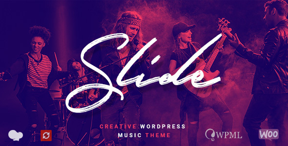 Image of Slide - Music WordPress Theme
