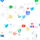 Social Networks Icons Light Pattern - VideoHive Item for Sale
