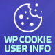 WP Cookie User Info Pro - Cookie Notification Plugin for WordPress
