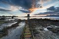 Sunset over Castle Stalker - PhotoDune Item for Sale