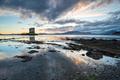 Sundown over Castle Stalker - PhotoDune Item for Sale