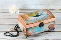Decoupaged Jeqwellery Box - PhotoDune Item for Sale