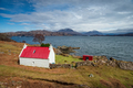 Cottage on the shore of Loch Shieldaig in Scotland - PhotoDune Item for Sale