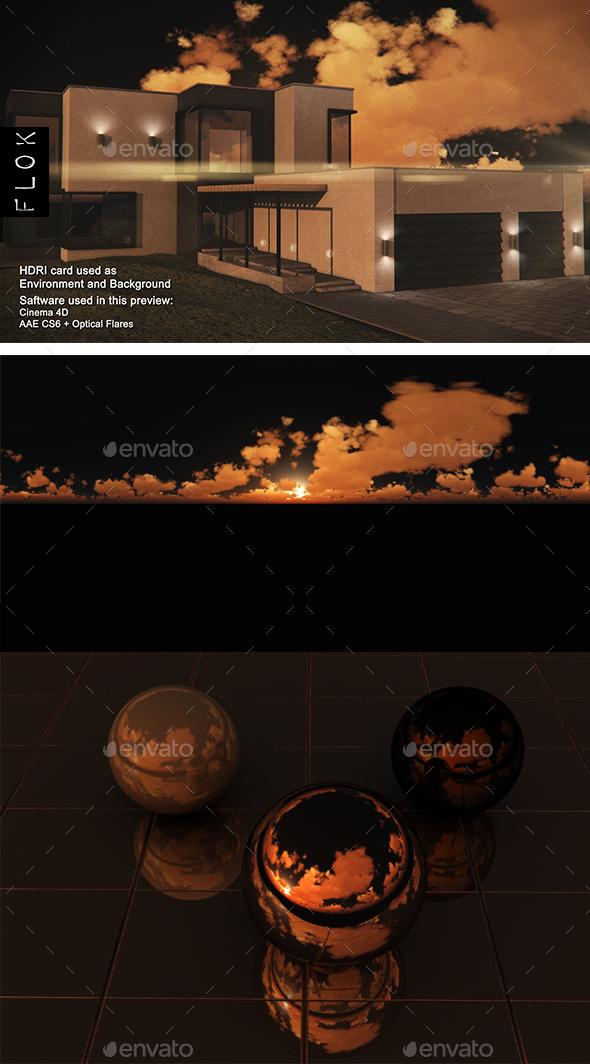 Sunset Desert 112 - 3DOcean Item for Sale