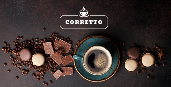 Image of Corretto - A Modern Theme for Coffee Shops and Cafés