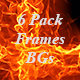 Fire Frame Abstract Backgrounds - VideoHive Item for Sale