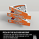 Packaging Mockup Pizza Slice Box - GraphicRiver Item for Sale