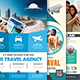 Travel Agency Flyers Bundle