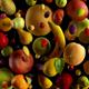 Fruit Falling on Black 4k - VideoHive Item for Sale