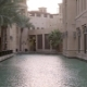 Traditional Arabian Buildings Are Based in Water, View of Walls and Palms, Picturesque - VideoHive Item for Sale