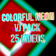 VJ Neon Pack - VideoHive Item for Sale
