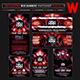 XXX Electro WEB Banners Photoshop Templates - GraphicRiver Item for Sale