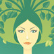 Woman With Tree - GraphicRiver Item for Sale