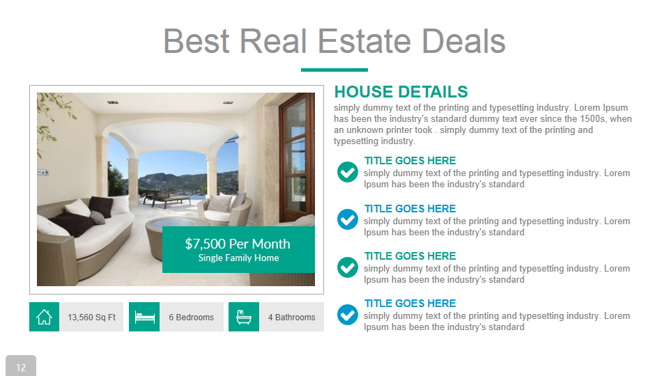 powerpoint real estate templates