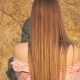 Lady with Long Smooth Shiny Straight Hair