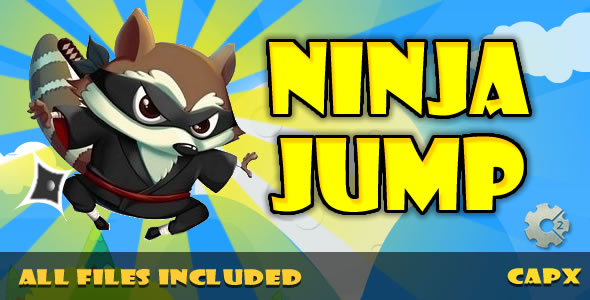 Ninja Jump (HTML & CAPX) Game! - CodeCanyon Item for Sale