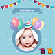 Baby Birthday Template - Vol. 5 - GraphicRiver Item for Sale