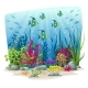 Underwater Landscape With Animals - GraphicRiver Item for Sale