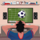 Football Fan in Despair After Goal - GraphicRiver Item for Sale