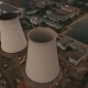 Old Thermal Power Station Creating Pollution Aerial - VideoHive Item for Sale
