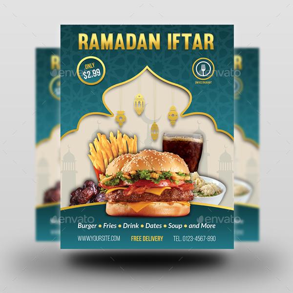 Ramadan Restaurant Advertising Bundle By Owpictures