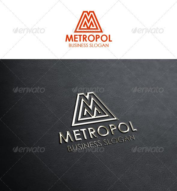 Letter M Logo - Metropol - Letters Logo Templates