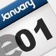 Web Icon Calendar - GraphicRiver Item for Sale