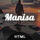 Manisa - Personal One Page Template - ThemeForest Item for Sale
