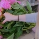 Florist Woman Making Bunch at Flower Shop - VideoHive Item for Sale