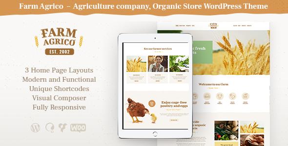 19+ Best Farming WordPress Themes of 2019 15