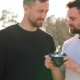 Young Gay Couple Taking Photo of Themself on a Film Camera in the Spring Evening - VideoHive Item for Sale