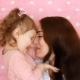 Mother and Daughter Embrace, Smiles, Have Fun, Laugh and Kissed.  Portrait Young Woman - VideoHive Item for Sale