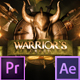 Epic Warrior Logo - VideoHive Item for Sale
