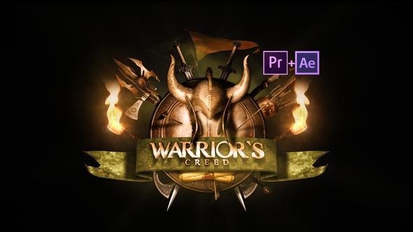Epic Warrior Logo 21848622