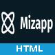 Mizapp - App Landing HTML5 Template - ThemeForest Item for Sale