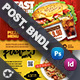 Restaurant Bundle Postcard Templates