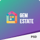 GEMESTATE - Modern Real Estate & Rental PSD Template - ThemeForest Item for Sale