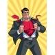 Superhero Under Cover Suit 2