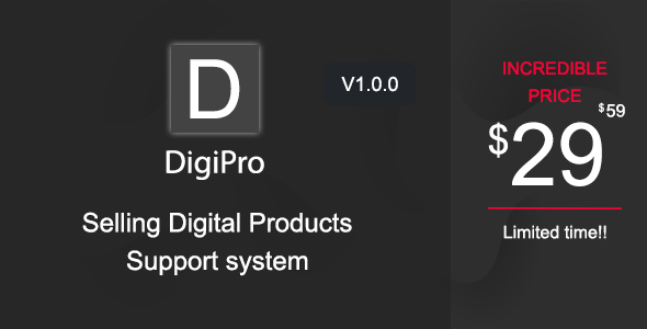 DigiPro - Selling Digital Products & Support System - CodeCanyon Item for Sale